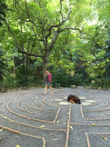 Maui Retreat Labyrinth